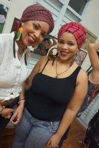 Parte de lo acontecido en el taller organizado por Beatriz Cámara y respaldado por el grupo Afrolatinas.